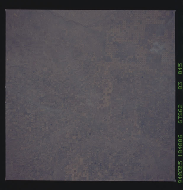 STS062-83-045 - STS-062 - Earth observations from STS-62 flight