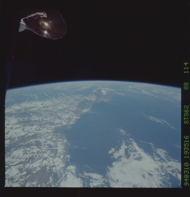 STS062-88-114 - STS-062 - Earth observations from STS-62 flight