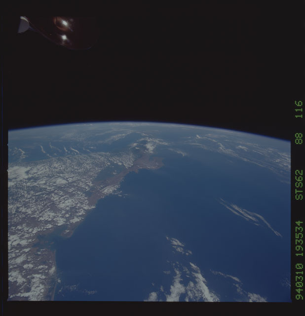 STS062-88-116 - STS-062 - Earth observations from STS-62 flight