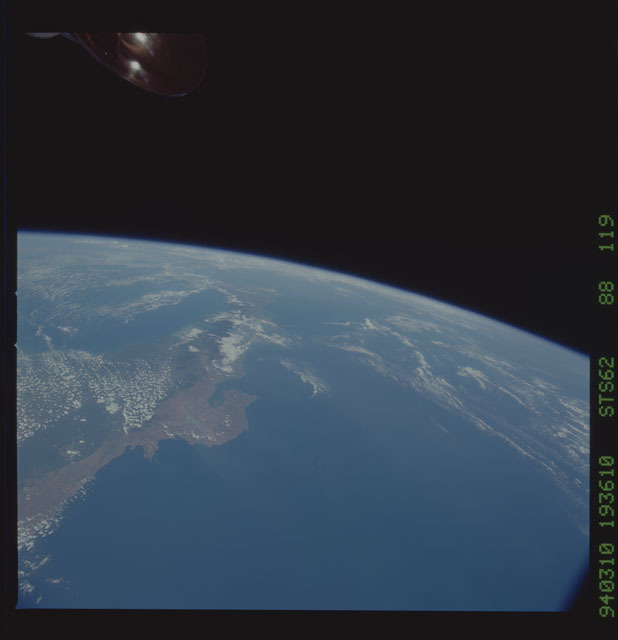 STS062-88-119 - STS-062 - Earth observations from STS-62 flight