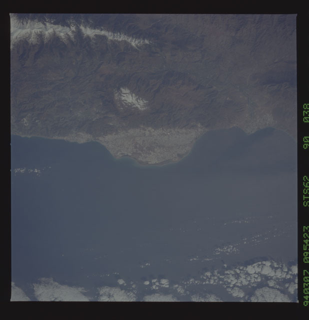 STS062-90-038 - STS-062 - Earth observations from STS-62 flight