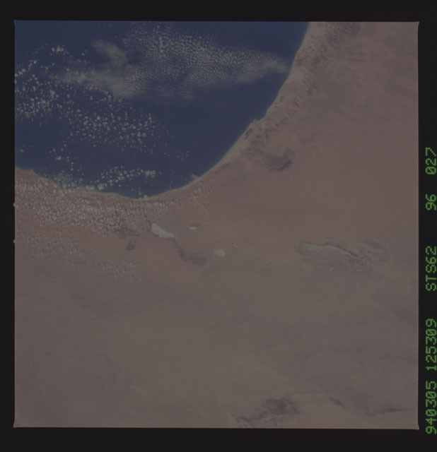 STS062-96-027 - STS-062 - Earth observations from STS-62 flight
