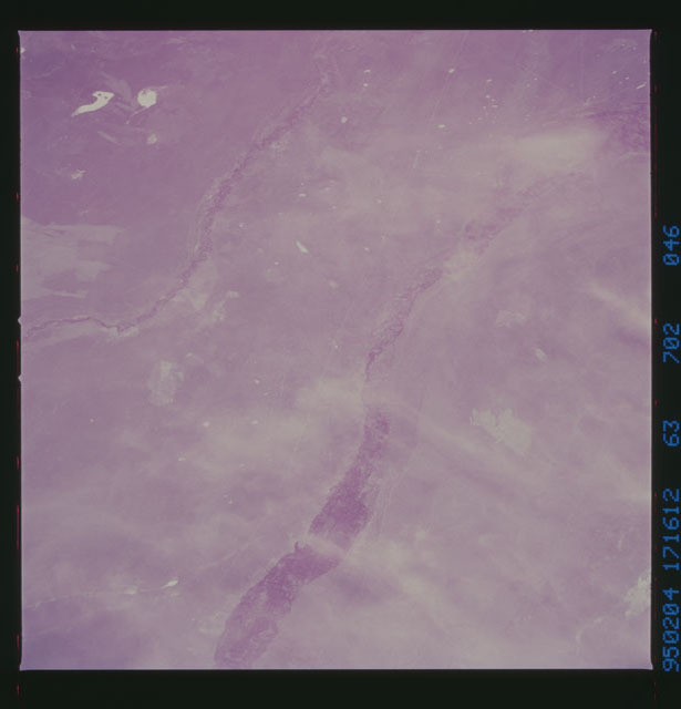 STS063-702-046 - STS-063 - Infrared images of the Earth