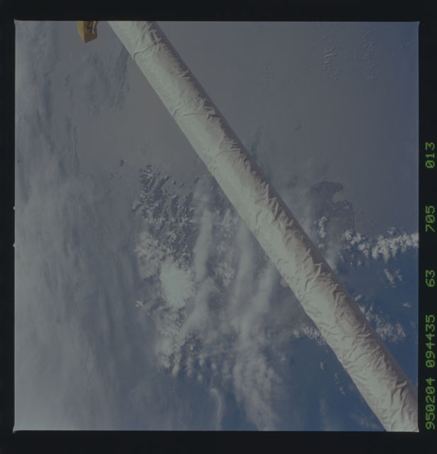 STS063-705-013 - STS-063 - Earth observation during STS-63