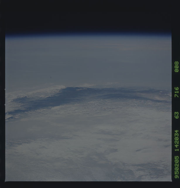 STS063-716-008 - STS-063 - Earth observations from STS-63 mission