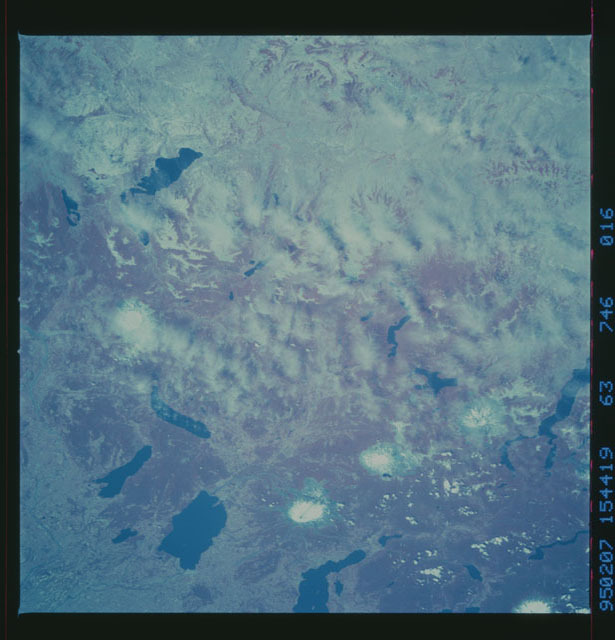 STS063-746-016 - STS-063 - Infrared images of the Earth