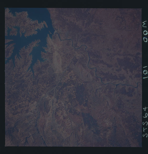 STS064-101-000M - STS-064 - Earth observations during STS-64 mission