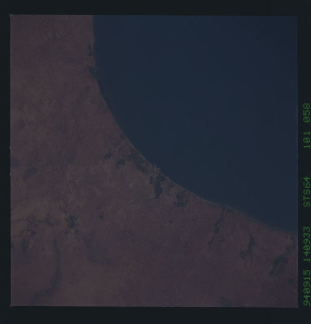 STS064-101-058 - STS-064 - Earth observations during STS-64 mission