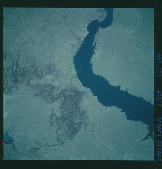 STS064-107-068 - STS-064 - Color Infrared (CIR) earth observations taken during STS-64 mission
