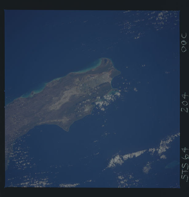 STS064-204-000C - STS-064 - Earth observations during STS-64