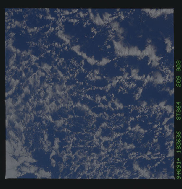 STS064-209-008 - STS-064 - Earth observations during STS-64 mission