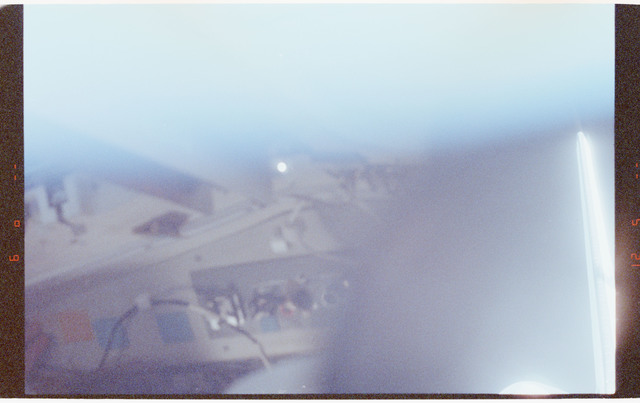 STS064-70-013 - STS-064 - Aircraft glow as viewed through an aft window