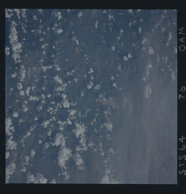 STS064-76-00AM - STS-064 - Earth observations during STS-64 mission