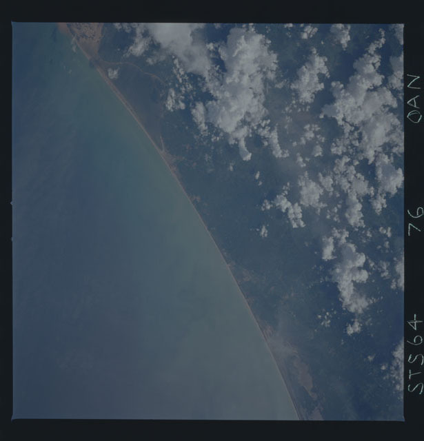 STS064-76-00AN - STS-064 - Earth observations during STS-64 mission