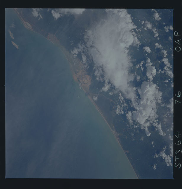STS064-76-00AP - STS-064 - Earth observations during STS-64 mission