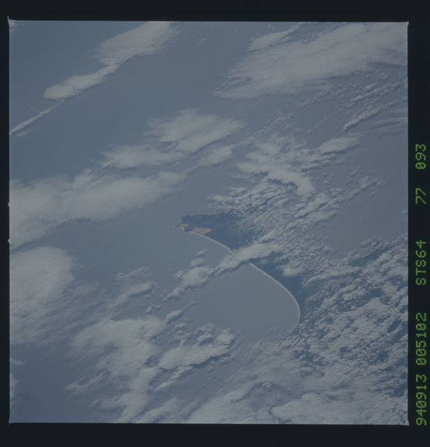 STS064-77-093 - STS-064 - Earth observations during STS-64 mission