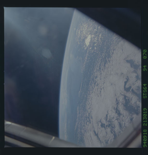 STS064-94-070 - STS-064 - Earth observations during STS-64 mission