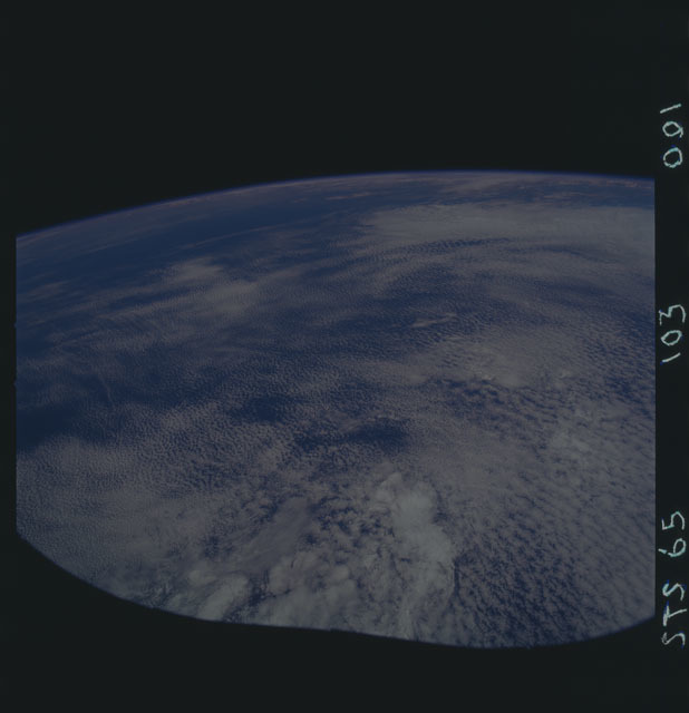 STS065-103-001 - STS-065 - Earth observations taken during STS-65 mission