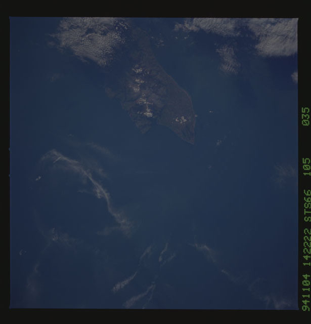 STS066-105-035 - STS-066 - Earth observations during STS-66 mission