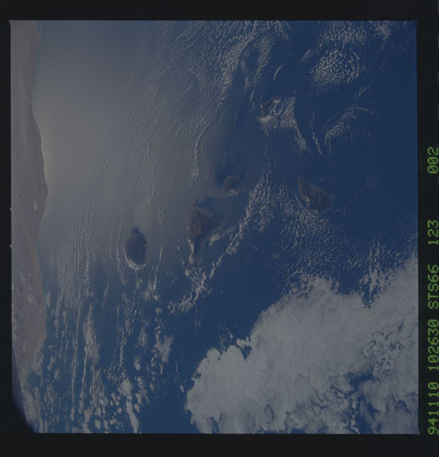STS066-123-002 - STS-066 - Earth observations during STS-66 mission