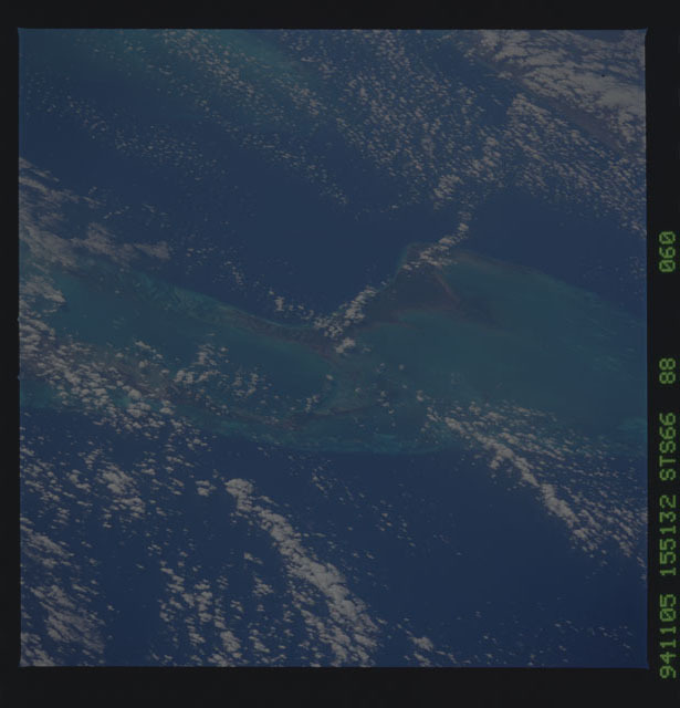 STS066-88-060 - STS-066 - Earth observations during STS-66