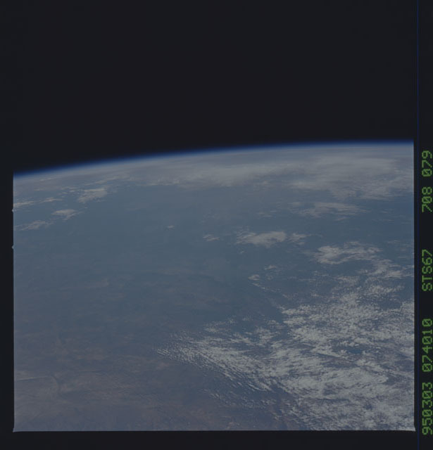 STS067-708-079 - STS-067 - Earth observations taken from shuttle orbiter Endeavour during STS-67 mission