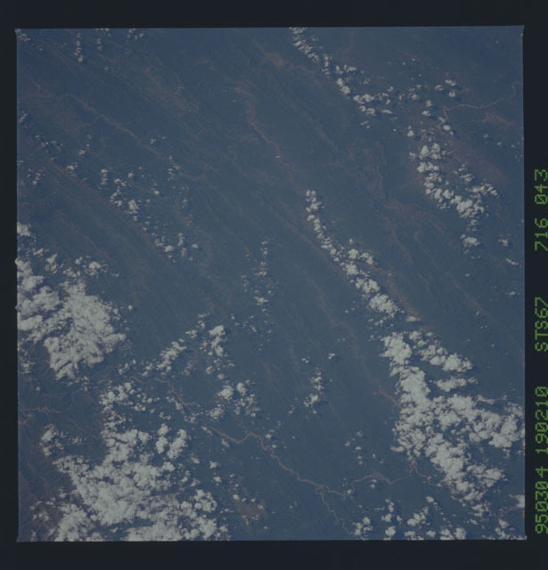 STS067-716-043 - STS-067 - Earth observations taken from shuttle orbiter Endeavour during STS-67 mission