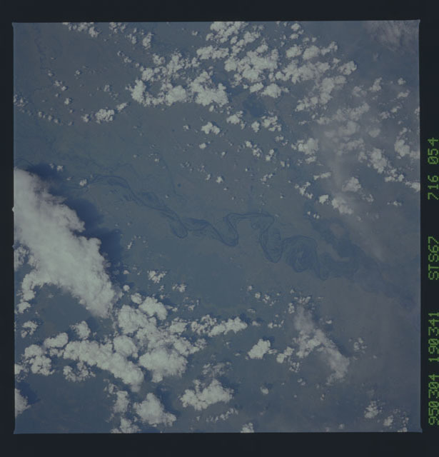 STS067-716-054 - STS-067 - Earth observations taken from shuttle orbiter Endeavour during STS-67 mission
