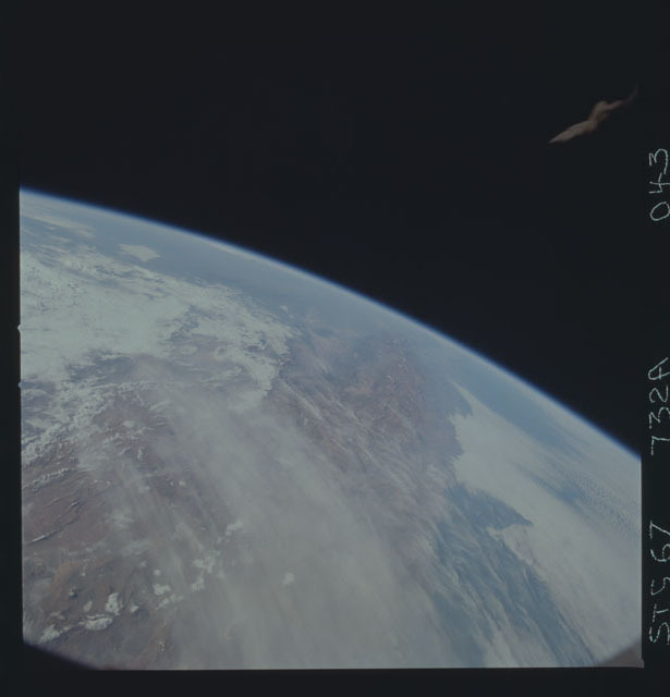 STS067-732A-043 - STS-067 - Earth observations taken from shuttle orbiter Endeavour during STS-67 mission
