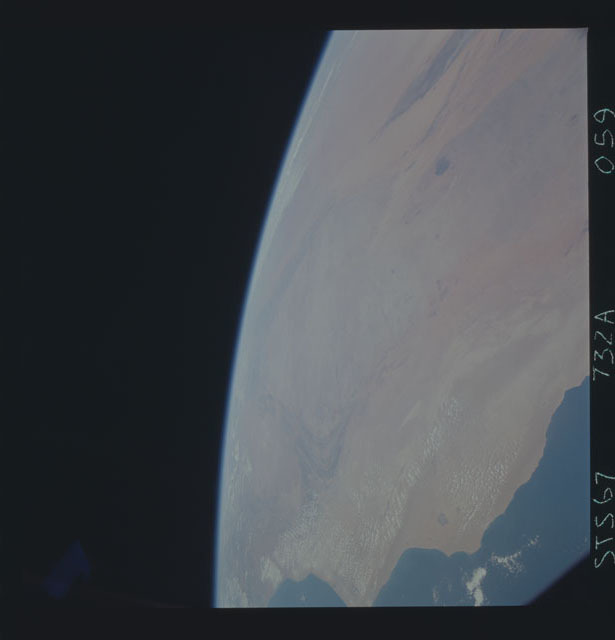 STS067-732A-059 - STS-067 - Earth observations taken from shuttle orbiter Endeavour during STS-67 mission