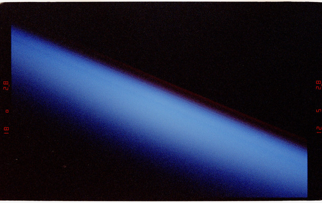 STS068-10-013 - STS-068 - Auroral glow above the Earth limb