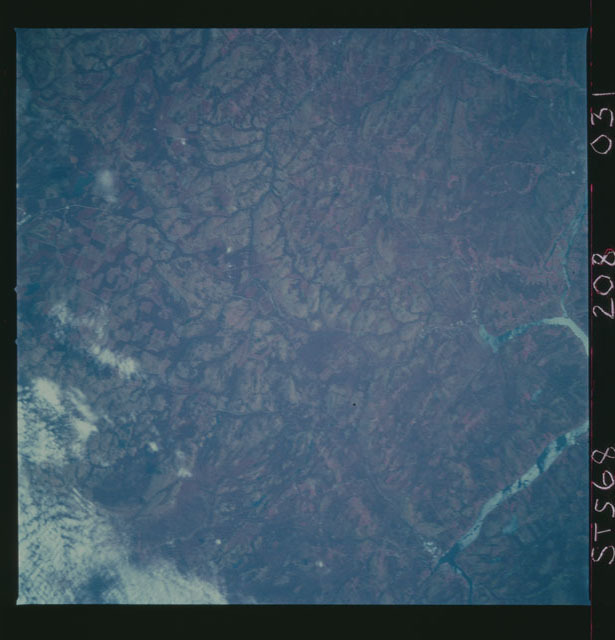 STS068-208-031 - STS-068 - Earth observations during STS-68 mission