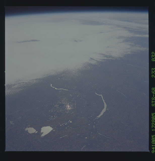 STS068-233-032 - STS-068 - Earth observations during STS-68 mission