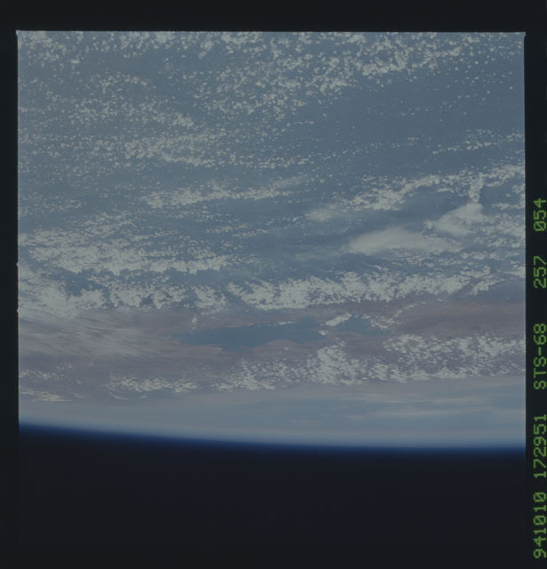 STS068-257-054 - STS-068 - Earth observations during STS-68 mission