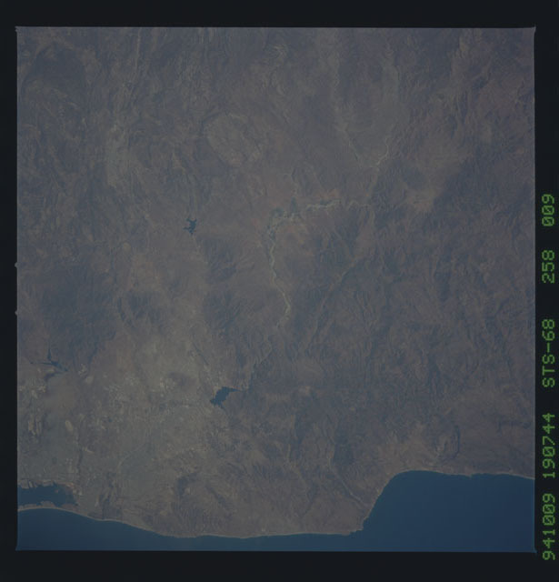 STS068-258-009 - STS-068 - Earth observations during STS-68 mission