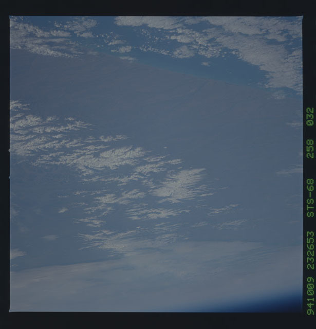 STS068-258-032 - STS-068 - Earth observations during STS-68 mission