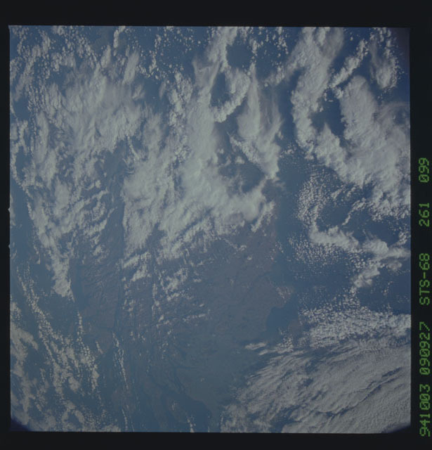STS068-261-099 - STS-068 - Earth observations during STS-68 mission