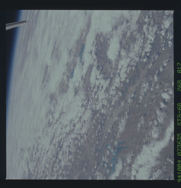 STS068-268-017 - STS-068 - Earth observations during STS-68 mission