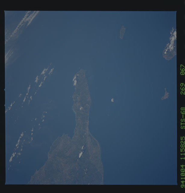 STS068-269-067 - STS-068 - Earth observations during STS-68 mission