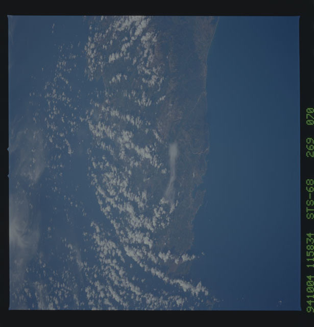 STS068-269-070 - STS-068 - Earth observations during STS-68 mission