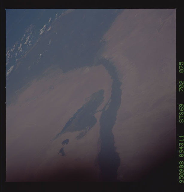 STS069-702-075 - STS-069 - Earth observations taken during STS-69 mission