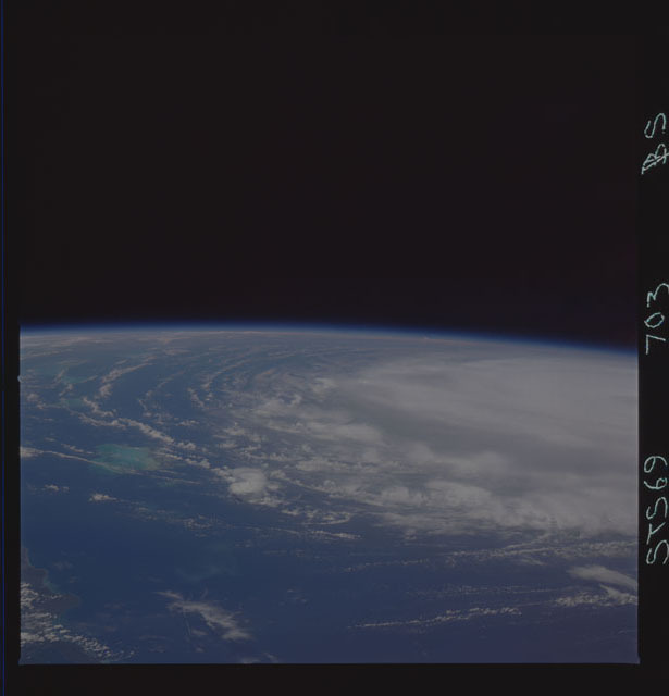 STS069-703-000BS - STS-069 - Earth observations taken during the STS-69 mission