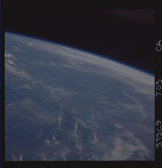 STS069-703-000CA - STS-069 - Earth observations taken during the STS-69 mission