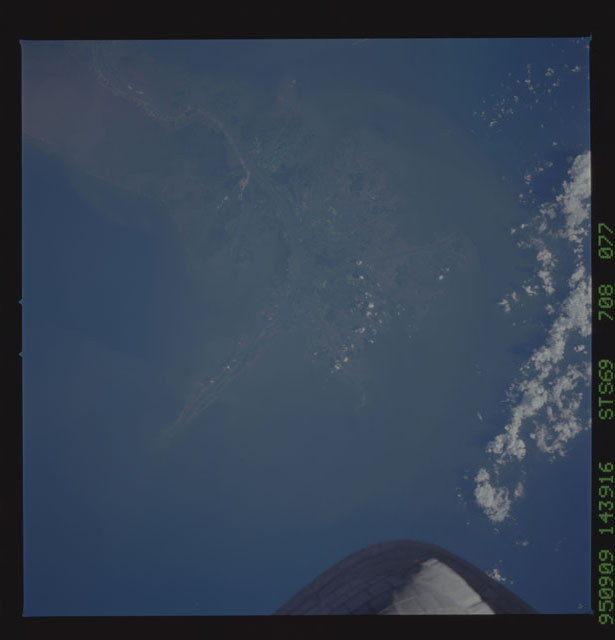 STS069-708-077 - STS-069 - Earth observations taken during the STS-69 mission