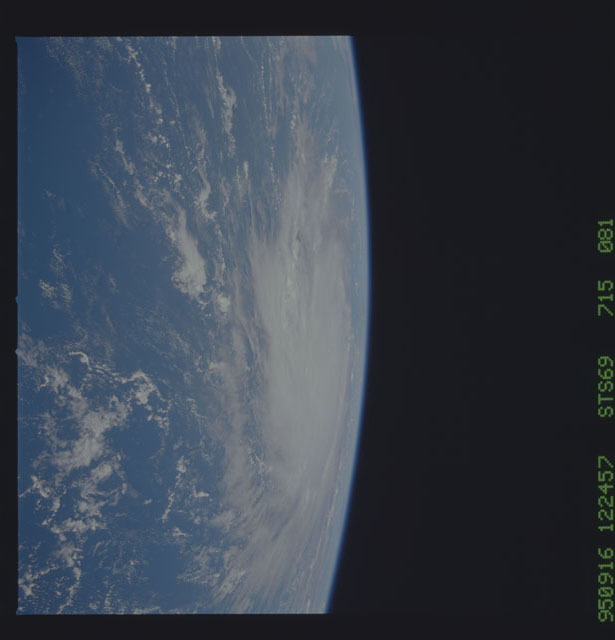 STS069-715-081 - STS-069 - Hurricane Marilyn as seen from STS-69