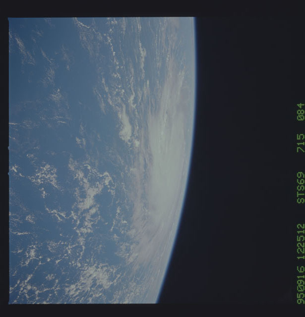 STS069-715-084 - STS-069 - Hurricane Marilyn as seen from STS-69
