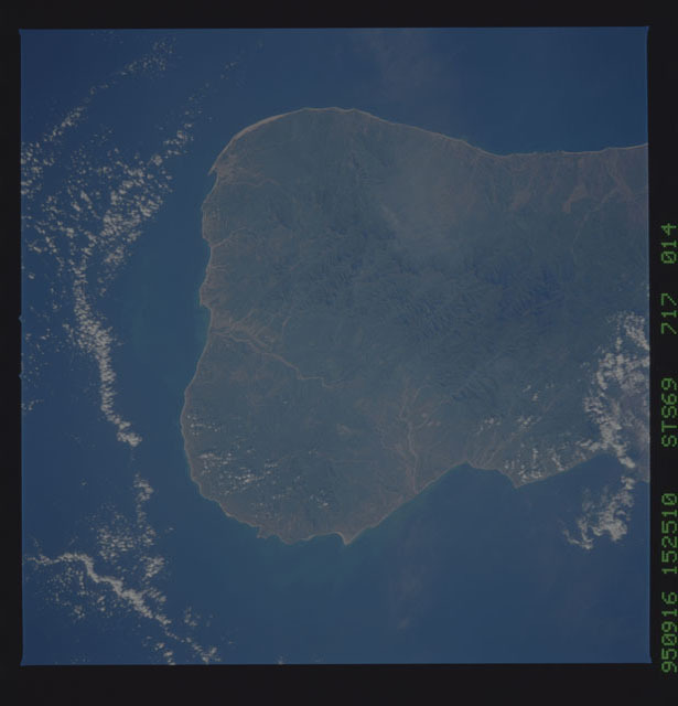 STS069-717-014 - STS-069 - Earth observations taken during STS-69 mission