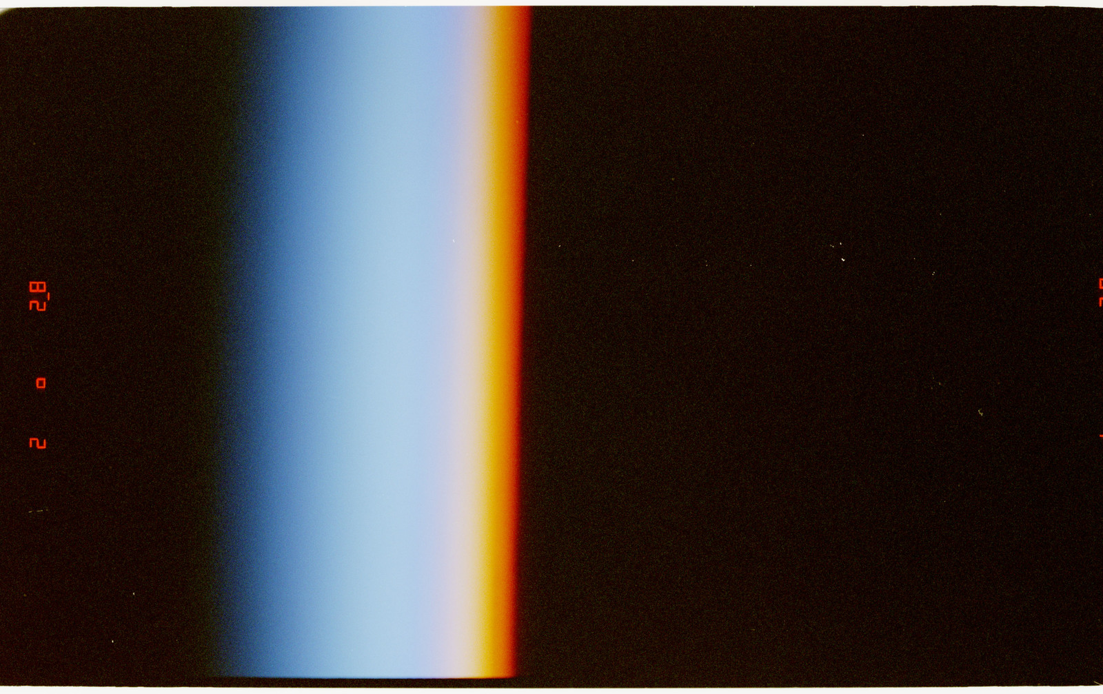 STS070-371-017 - STS-070 - Views of earth limb and aurora in support of Window Experiment (WINDEX)