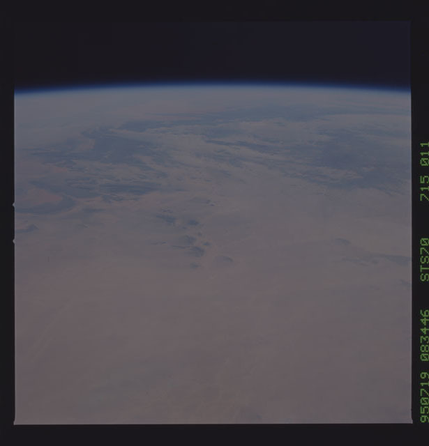 STS070-715-011 - STS-070 - Earth observations taken from shuttle orbiter Discovery on STS-70 mission