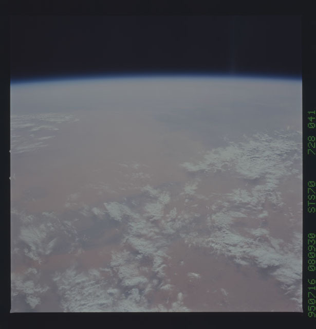 STS070-728-041 - STS-070 - Earth observations taken from shuttle orbiter Discovery on STS-70 mission